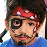 Face Painting Boy Pirate