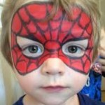 Face Painting Boys Spiderman