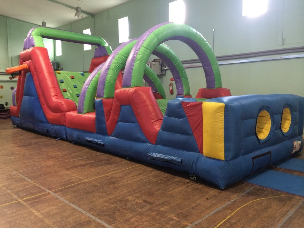 Indoor & Outdoor Obstacle Course Bouncy Castle