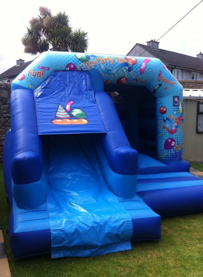 Party Combi Bouncy Castle with Slide