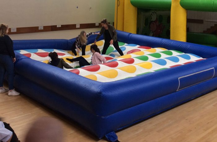 Giant Inflatable Twister Childrens Party Venue Amp Bouncy