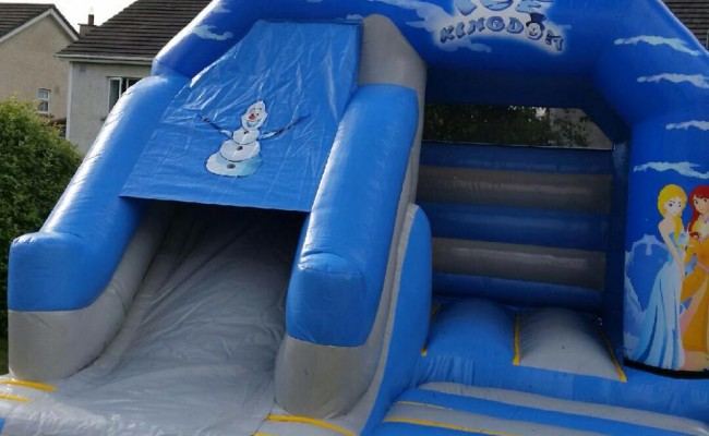 Frozen-Bouncy-Castle