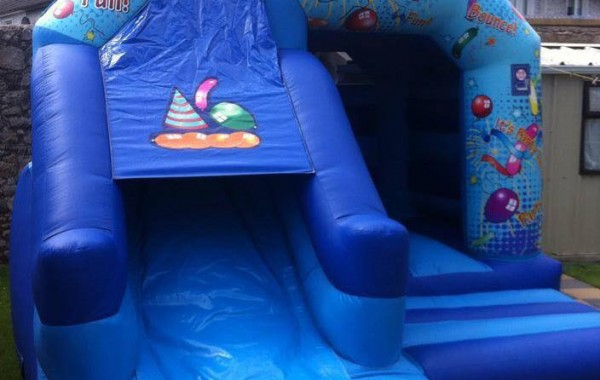 Party Combi Bouncy Castle & Slide