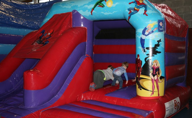 Super Hero Combi Bouncy Castle