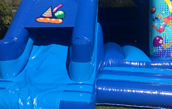 Large Party Combi Bouncy Castle & Slide