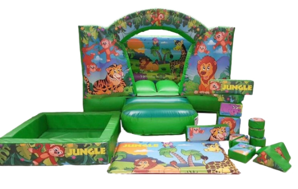Jungles Themes Castle & Softplay